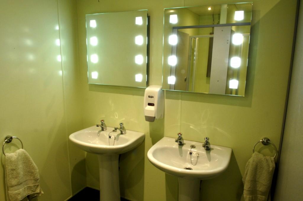 Altro Whiterock Bathroom Splashback