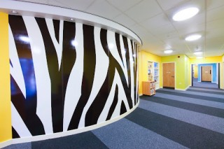 Zebra Print Wall Cladding